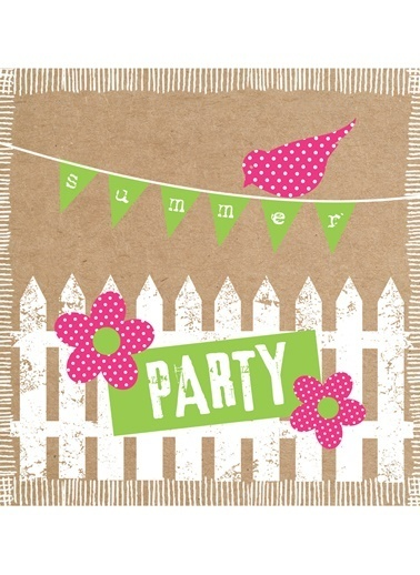 Party Cardboard Peçete-Dünya Style